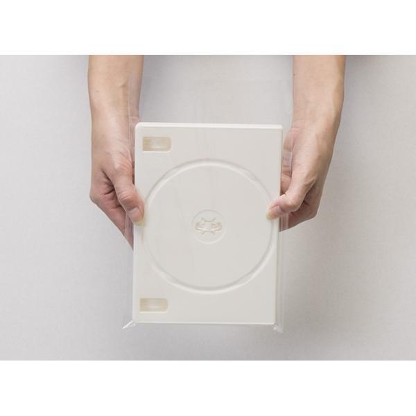 DVD用クリアシール OPP製 のり付き袋・本体側 小ケース 上入れ ワイド 200枚セット/マルゲリータ|margherita|03