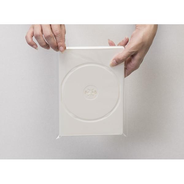 DVD用クリアシール OPP製 のり付き袋・本体側 小ケース 上入れ ワイド 200枚セット/マルゲリータ|margherita|05