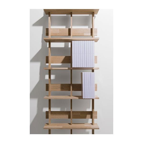 DVD収納 DVDシェルフ シェルフラック (天然木集成材) 木製 大容量 300枚|margherita|05