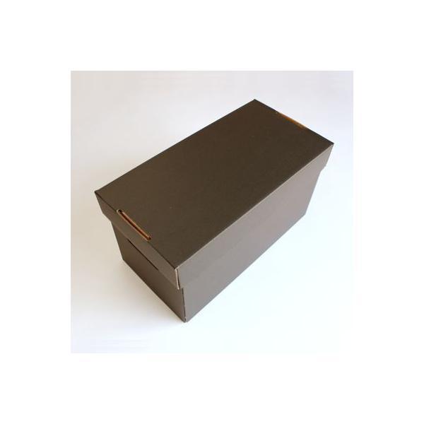 EPレコード用 段ボールボックス 蓋付き 黒 2箱セット/EP-008-BL margherita 02