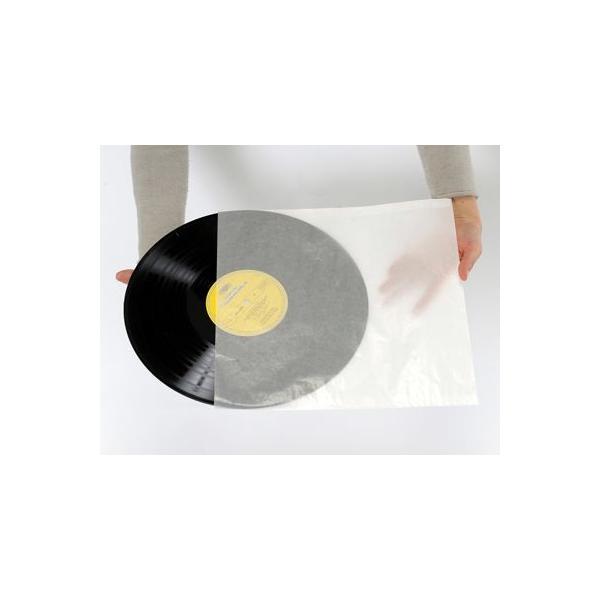 LPレコード用 インナージャケット グラシン紙製 100枚セット/LP-005|margherita|02