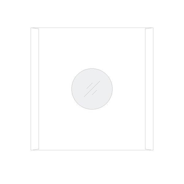 LPレコード用 インナージャケット 紙製 内側ポリ付き 50枚セット/LP-011|margherita