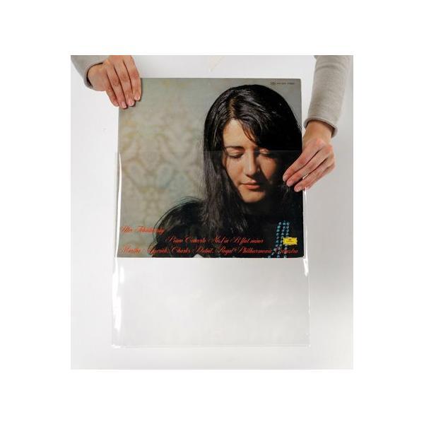 LPレコード用 ジャケットカバー PP製 厚口 ジャストサイズ 500枚セット/LP-017|margherita|03