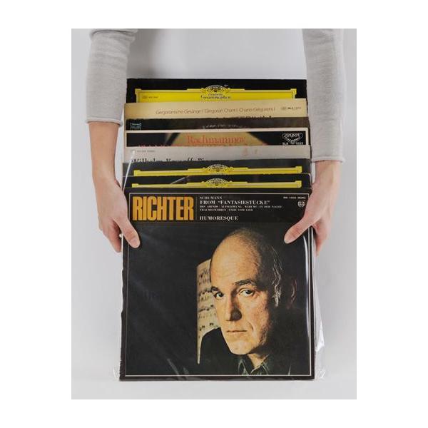 LPレコード用 ジャケットカバー PP製 中(LP約10枚) 500枚セット/LP-019|margherita|03