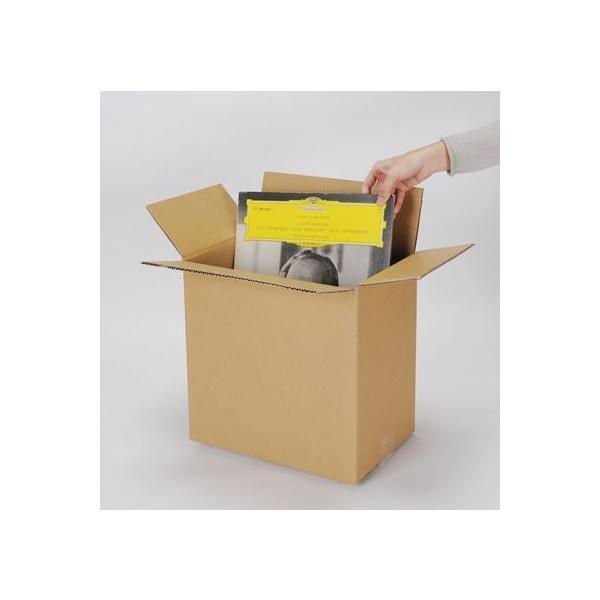 LPレコード用 段ボール箱 50枚用 縦置き 10箱セット/LP-026|margherita