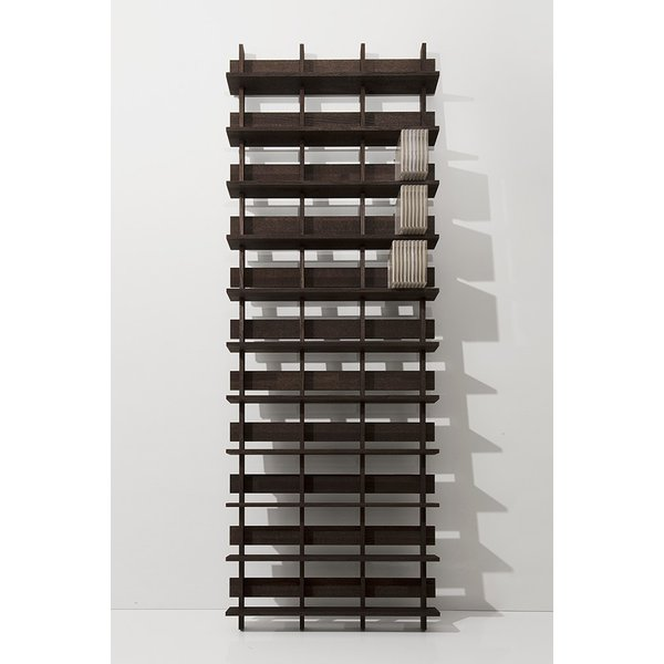 CDシェルフ ラック (天然木集成材) 収納ラック シェルフ棚 木製 大容量 500枚|margherita|02