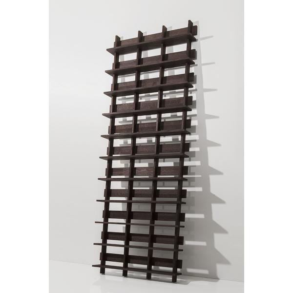 CDシェルフ ラック (天然木集成材) 収納ラック シェルフ棚 木製 大容量 500枚|margherita|03
