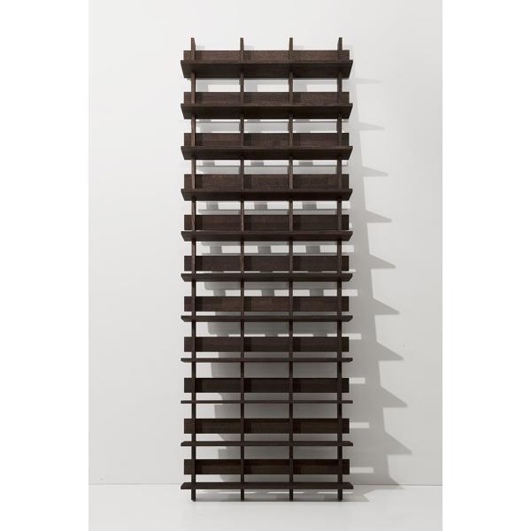 CDシェルフ ラック (天然木集成材) 収納ラック シェルフ棚 木製 大容量 500枚|margherita|04