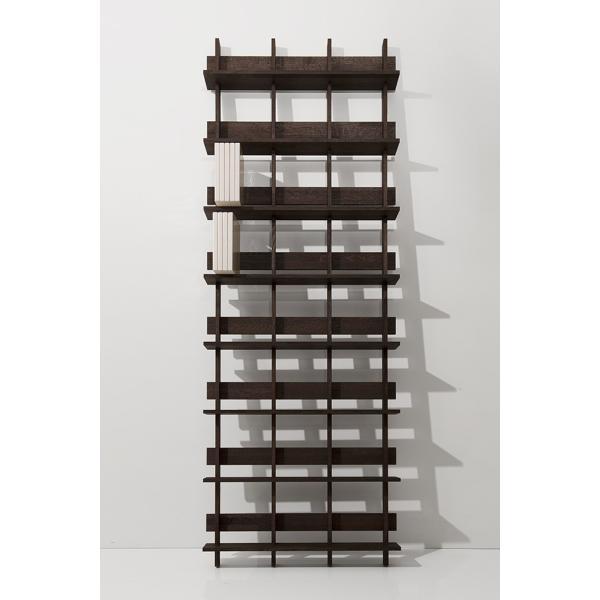 ディスプレイ収納 DVDシェルフ (天然木集成材) 収納ラック 木製 大容量 300枚|margherita|02