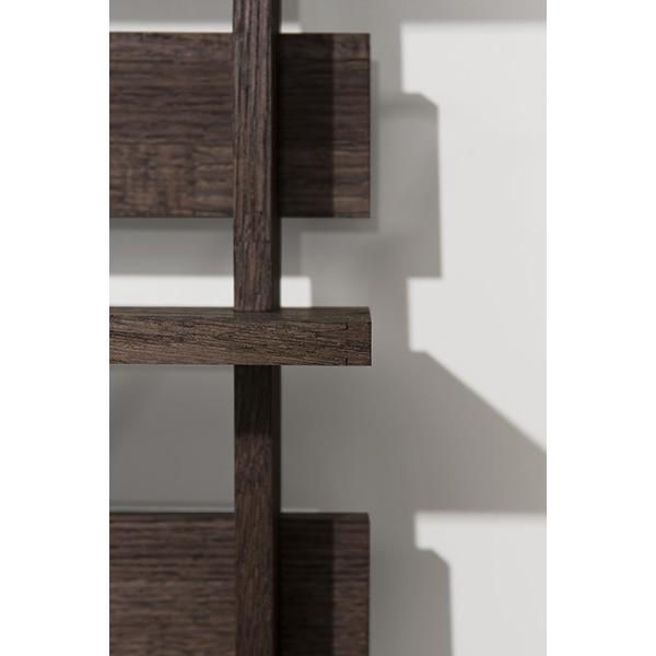 ディスプレイ収納 DVDシェルフ (天然木集成材) 収納ラック 木製 大容量 300枚|margherita|12