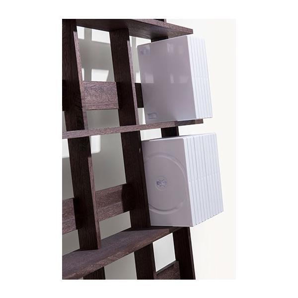 ディスプレイ収納 DVDシェルフ (天然木集成材) 収納ラック 木製 大容量 300枚|margherita|07