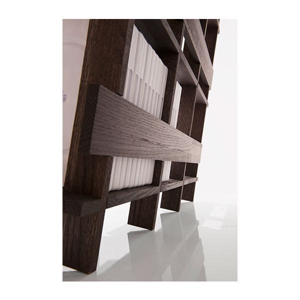 ディスプレイ収納 DVDシェルフ (天然木集成材) 収納ラック 木製 大容量 300枚|margherita|08