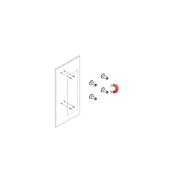 Caimi(カイミ) MITESCO パーティション吸音パネル・取付パーツ(マグネットタイプ)/遠藤照明・AbitaStyle(アビタスタイル)|margherita