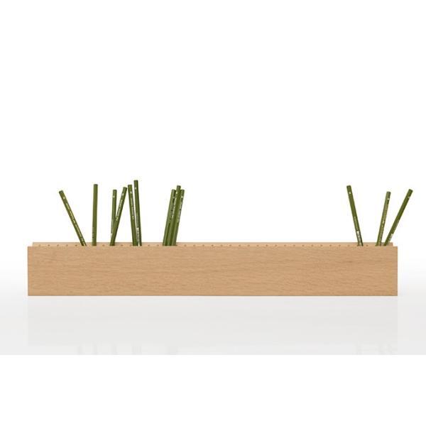 ペンスタンド 木製 ペン立て 鉛筆立て 卓上収納 おしゃれ マルゲリータ