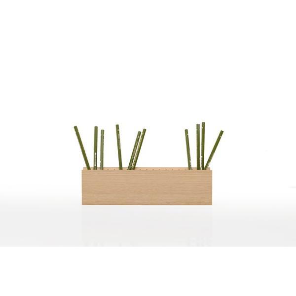 ペンスタンド 木製 ペン立て 鉛筆立て デスク整理 デザイン マルゲリータ