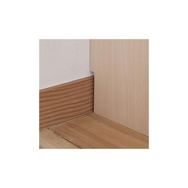壁面収納家具 本棚 壁面書棚 壁一面 オープンラック 梁下まで A4サイズより少し大きめの本、雑誌 高さ180cm 奥行230mm|margherita|07