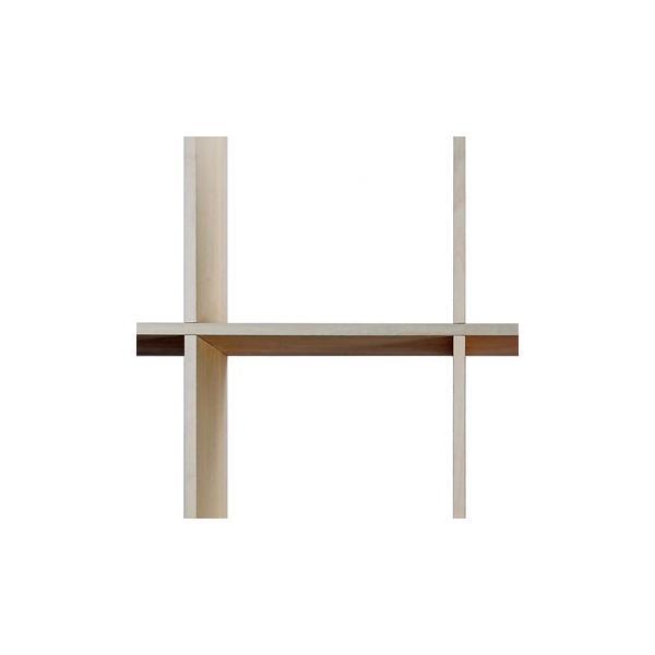 壁面書棚 本棚 おしゃれ 家具 壁一面 オープンシェルフ 梁下まで 高さ240cm 奥行230mm|margherita|05