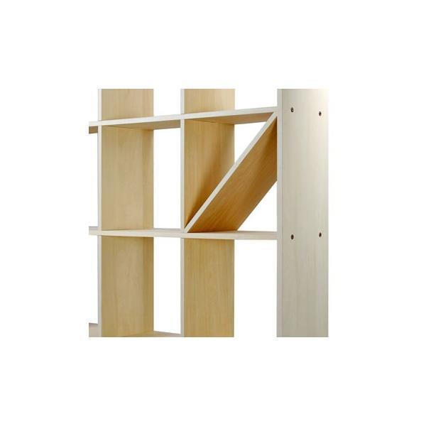 本棚 おしゃれ 家具 壁面収納 壁一面 大型本 美術書 梁下まで 書棚 オープンラック 横長タイプ|margherita|11