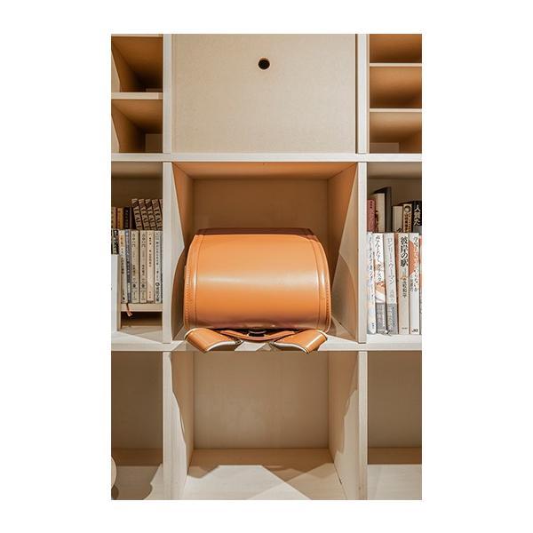 本棚 おしゃれ 家具 壁面収納 壁一面 大型本 美術書 梁下まで 書棚 オープンラック 横長タイプ|margherita|06