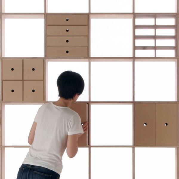 レコード棚 LPラック 壁面収納 壁一面 大量|margherita|06