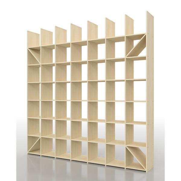レコード棚 レコード収納 LPラック 壁面収納 壁一面 大容量|margherita|02