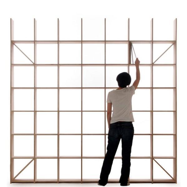 レコード棚 レコード収納 LPラック 壁面収納 壁一面 大容量|margherita|03