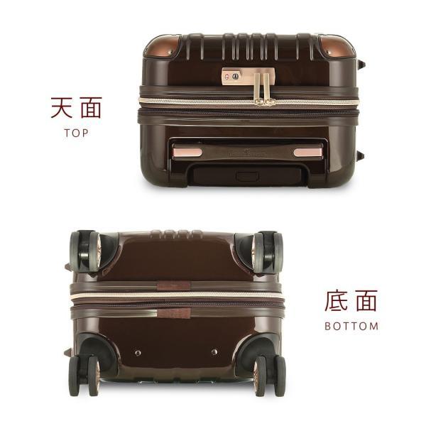 アウトレット スーツケース キャリーケース キャリーバッグ トランク 小型 軽量 Sサイズ おしゃれ 静音 ハード ファスナー 拡張 B-5122-55|marienamaki|19