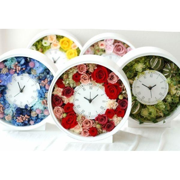還暦祝い 女性『花時計』プリザーブドフラワー 結婚祝い ギフト 誕生日祝い 還暦祝い 豪華|marika|06