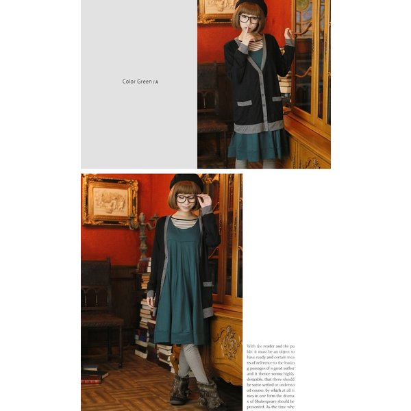 大きいサイズ レディース ワンピース 新色追加 キャメロンライン フレア マリリン定番 カットソー 体型カバー 冬 30代 40代 50代 ファッション mo|marilyn|16