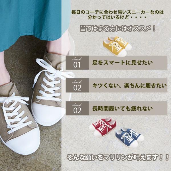 大きいサイズ レディース シューズ スニーカー 4E 幅広 キャンバス 痛くなりにくい 靴 30代 40代 50代 S marilyn 05