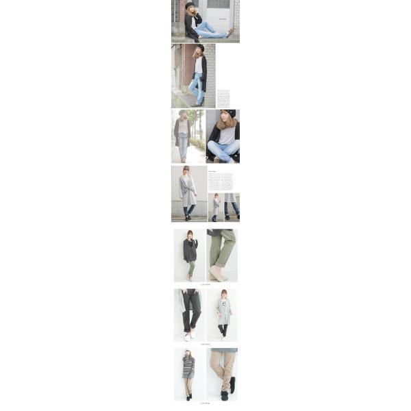 大きいサイズ レディース パンツ ツイル&デニム ストレッチ イージーパンツ ゆったりなのに美脚シルエット 秋 冬 30代 40代 50代 ファッション|marilyn|05