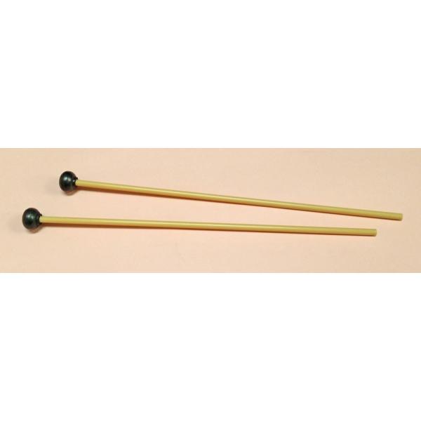 鉄琴用マレット バチ 硬質ゴム ハードタイプ 日本製