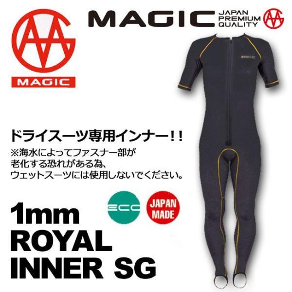 MAGIC マジックサーフインナードライスーツ専用 1mm ROYAL INNER SG シーガル mariner 02