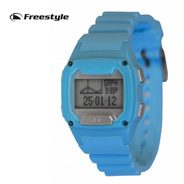 フリースタイル腕時計 SHARK TIDE 250 SKY BLUE FS1002573/FREE STYLE 男性用腕時計 サーフウォッチ|mariner