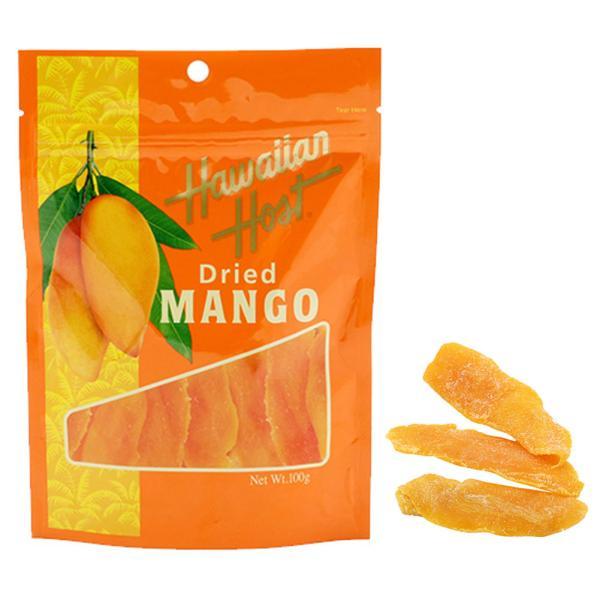 ハワイアンホーストドライマンゴー 100g Hawaiian Host Dried MANGO ホワイトデー ギフト
