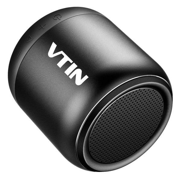 VTIN ワイヤレススピーカー コンパクト ポータブルスピーカーbluetooth 高音質 IPX5防水規格 重低音増強 マイク搭載 お風呂