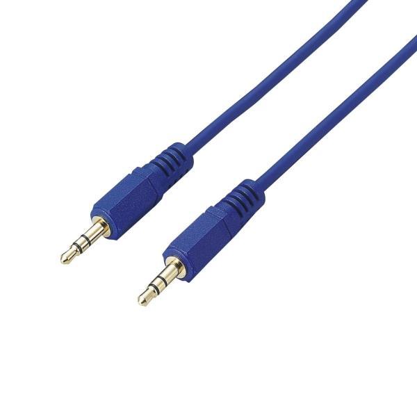ELECOM ステレオミニプラグケーブル 1m フラストレーションフリーパッケージ(FFP) DH-MM10/E