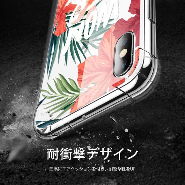 GVIEWIN iPhone XS ケース対応/iPhone X ケース対応 アイフォン ケース対応 TPU 超軽量 ソフト 滑り止め 薄型