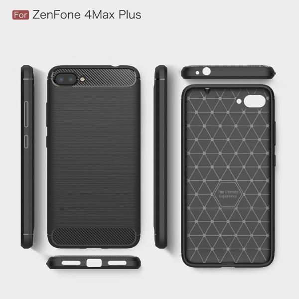 スマホリングスタンド付GTO ASUS ZenFone4 MAX Plus ZC554KL ケース カバー 炭素繊維 TPU シリコン素材を
