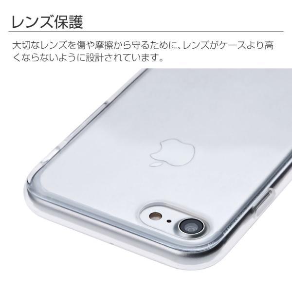 CINC SHOPiPhone 8 iPhone 7 ケース TPUケース カラフル クリア カラー 透明 カバー 保護ケース 耐衝撃ケース