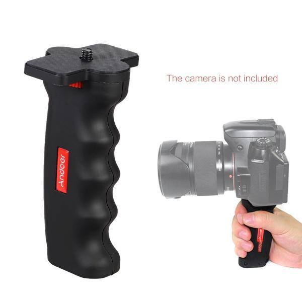 """Andoer カメラ撮影 ラクラク撮影 手ブレ防止 ハンドグリップ+ 1/4 """"ネジ 2点セット Canon Nikon Sony一眼レフカ"""