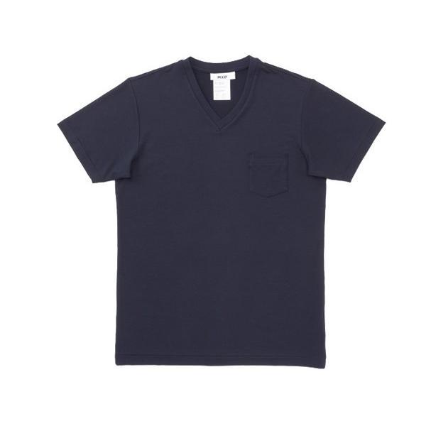エムエックスピー MXP メンズ ファインドライ Vネック Tシャツ Fine Dry S/S Pocket V-Neck  インナー 下着|mario