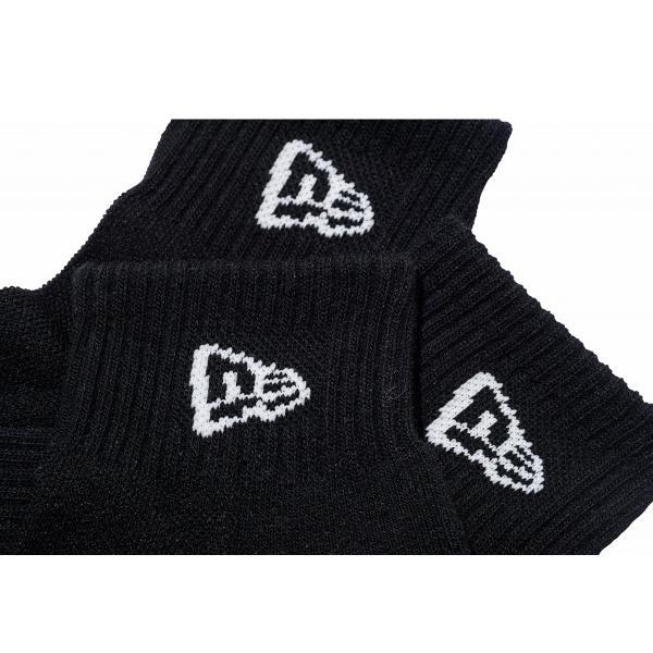 ニューエラ NEW ERA メンズ&レディース ソックス アンクル 3ペア ブラック カジュアル 小物 靴下 ソックス|mario|04