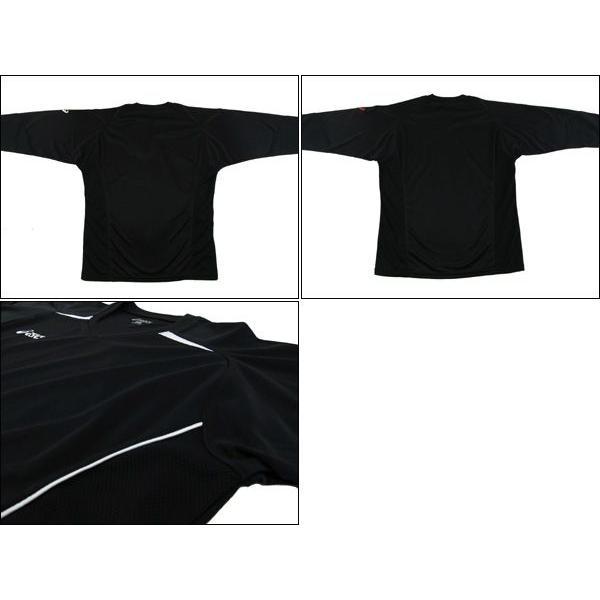アシックス asicsレディース スポーツ バレーボール ウェア 長袖 プラシャツ mario 02