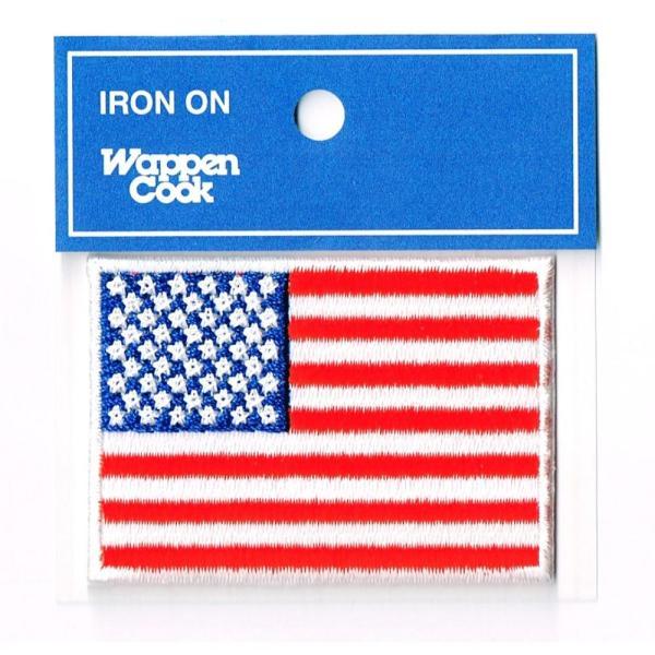 ワッペン 星条旗 アメリカ国旗 S|markers-patch