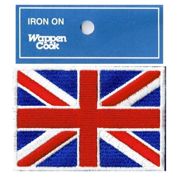 イギリス 国旗 ワッペン M|markers-patch