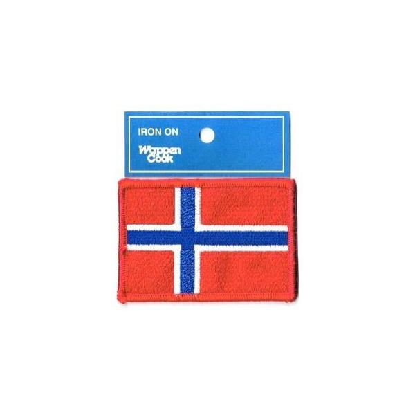 ノルウェー国旗 ワッペン M