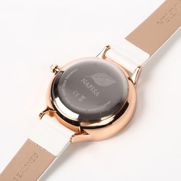 腕時計 レディース 防水 革ベルト おしゃれ シンプル カジュアル かわいい ビジネス ウォッチ 安い 送料無料 markgraf 14