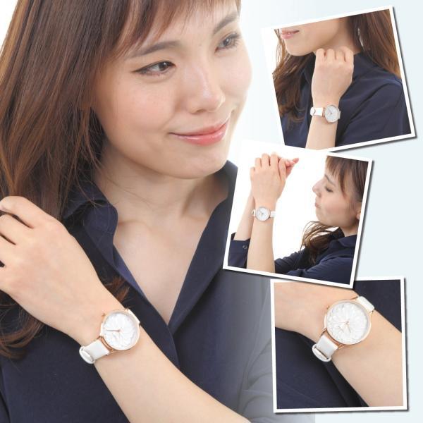腕時計 レディース 防水 革ベルト おしゃれ シンプル カジュアル かわいい ビジネス ウォッチ 安い 送料無料 markgraf 03