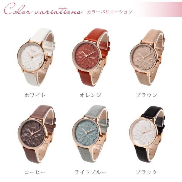腕時計 レディース 防水 革ベルト おしゃれ シンプル カジュアル かわいい ビジネス ウォッチ 安い 送料無料 markgraf 04